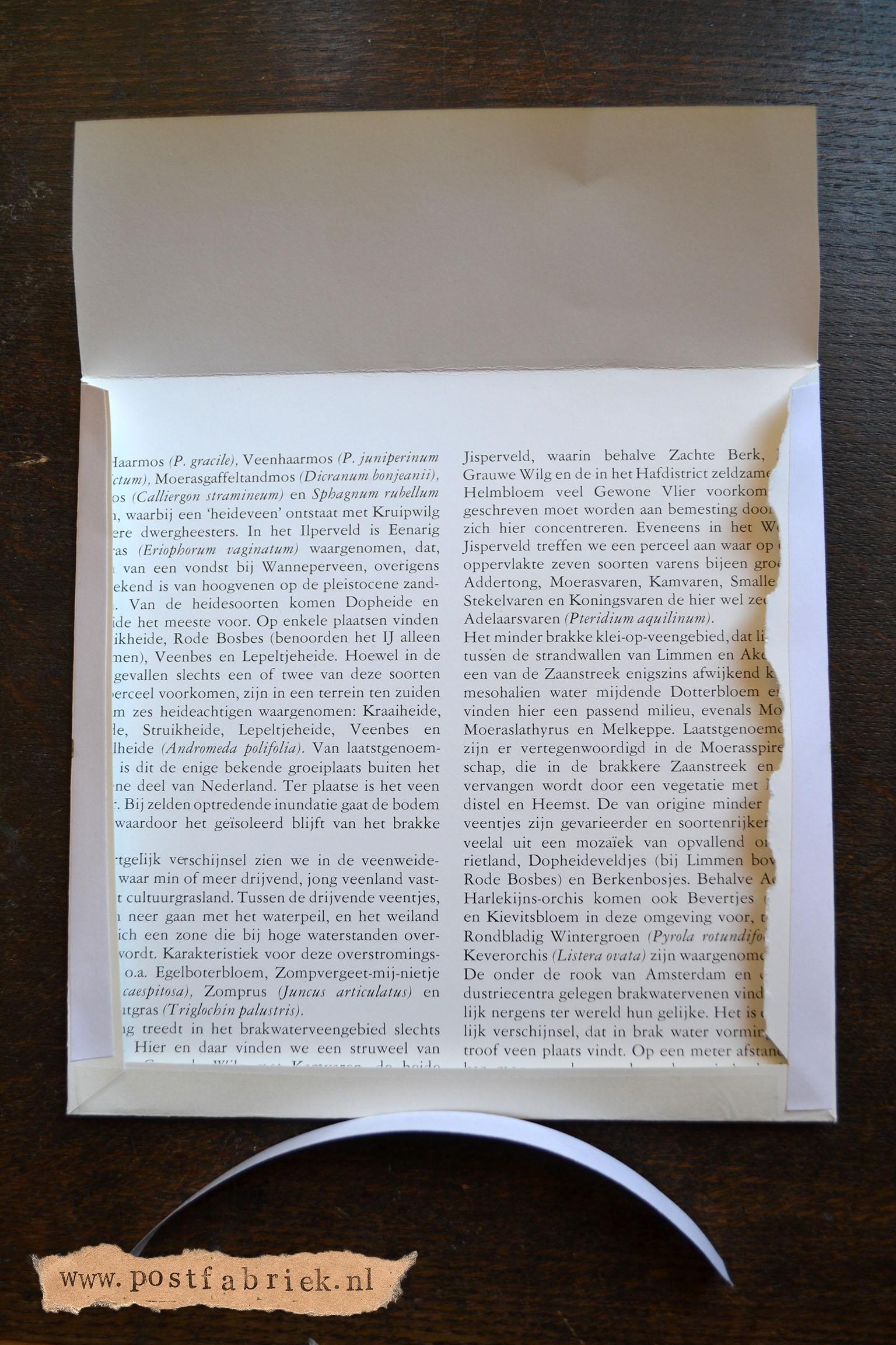 Envelop met omgevouwen randje 3