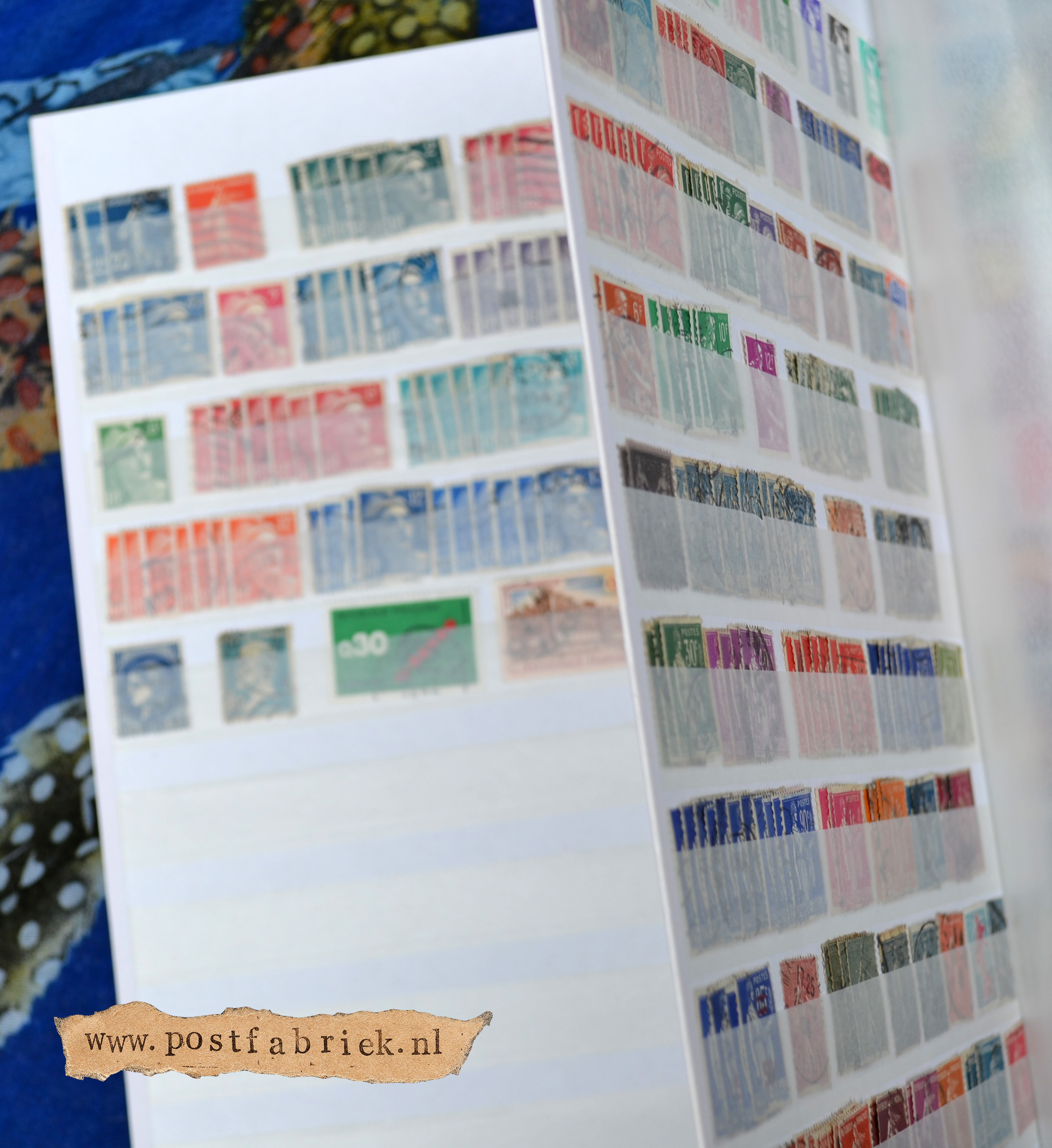 binnenkant postzegelboek