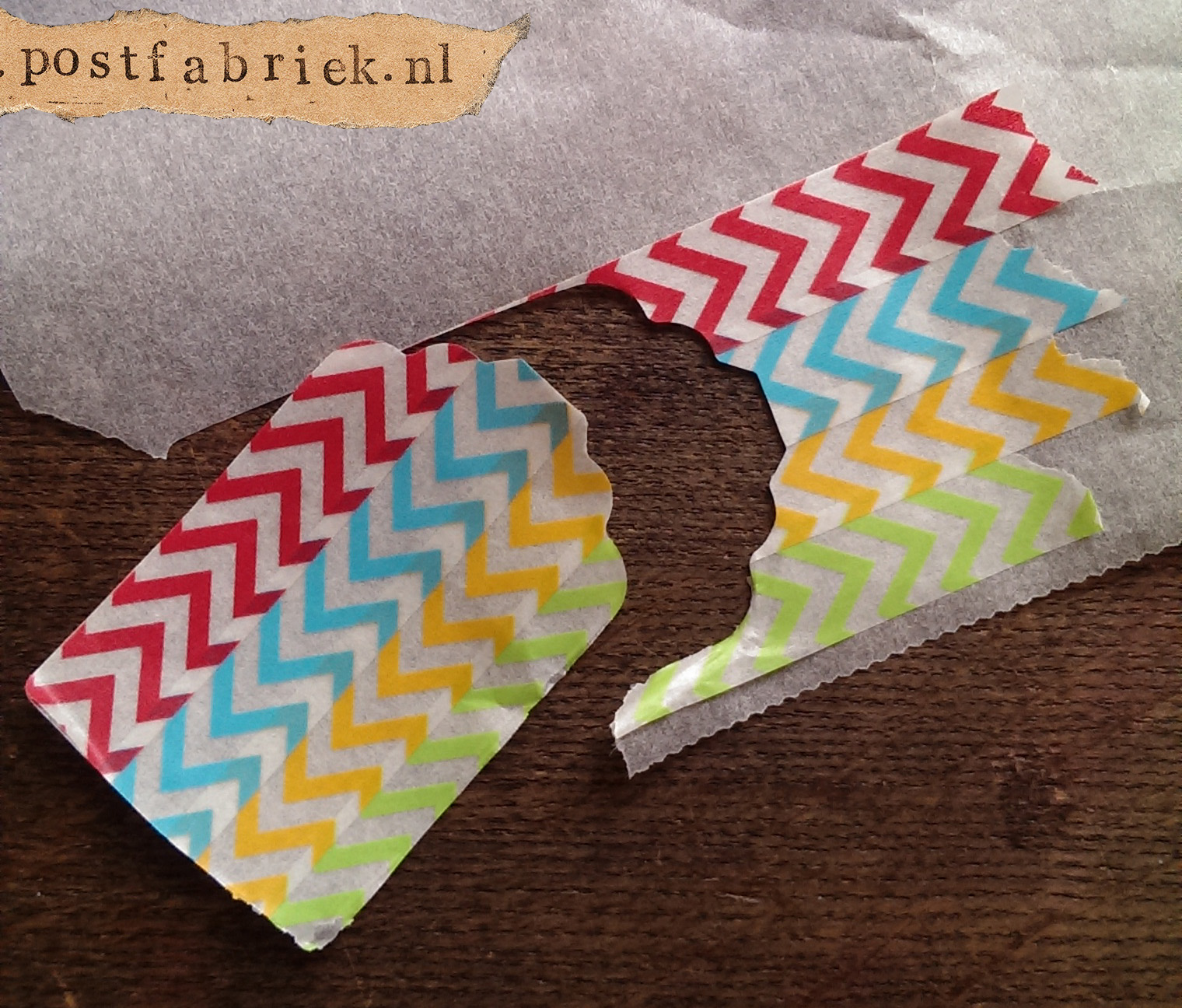 Stickers van washi tape 16