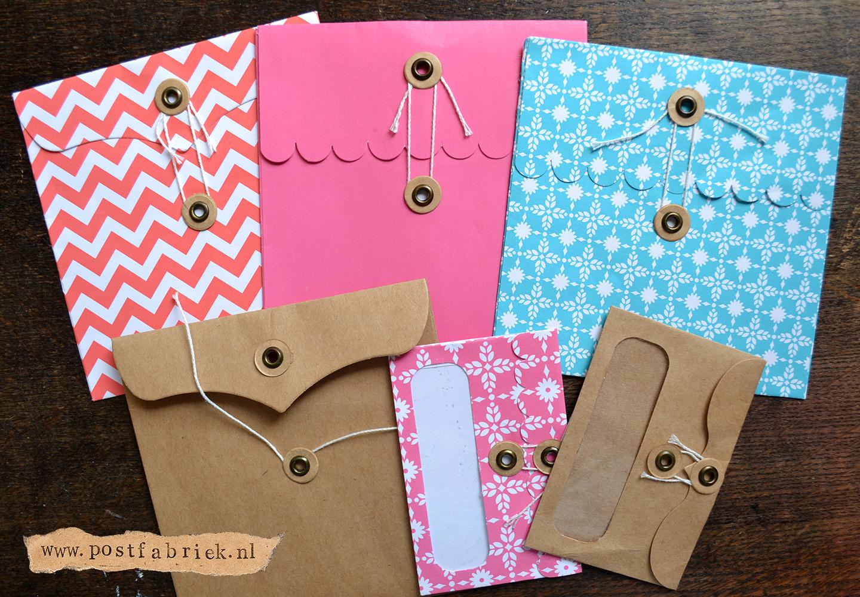 Sluitrondjes voor enveloppen en zakjes postfabriek for Cadeauzakjes papier hema