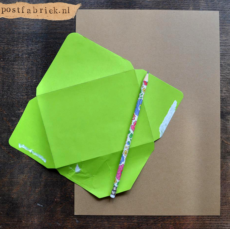 Namaak Moleskine Postal Notebook 1
