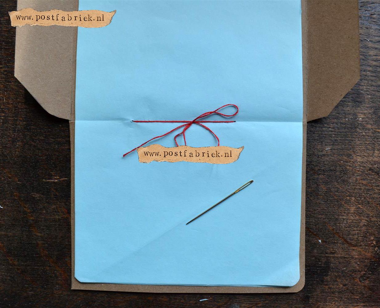 Namaak Moleskine Postal Notebook 12