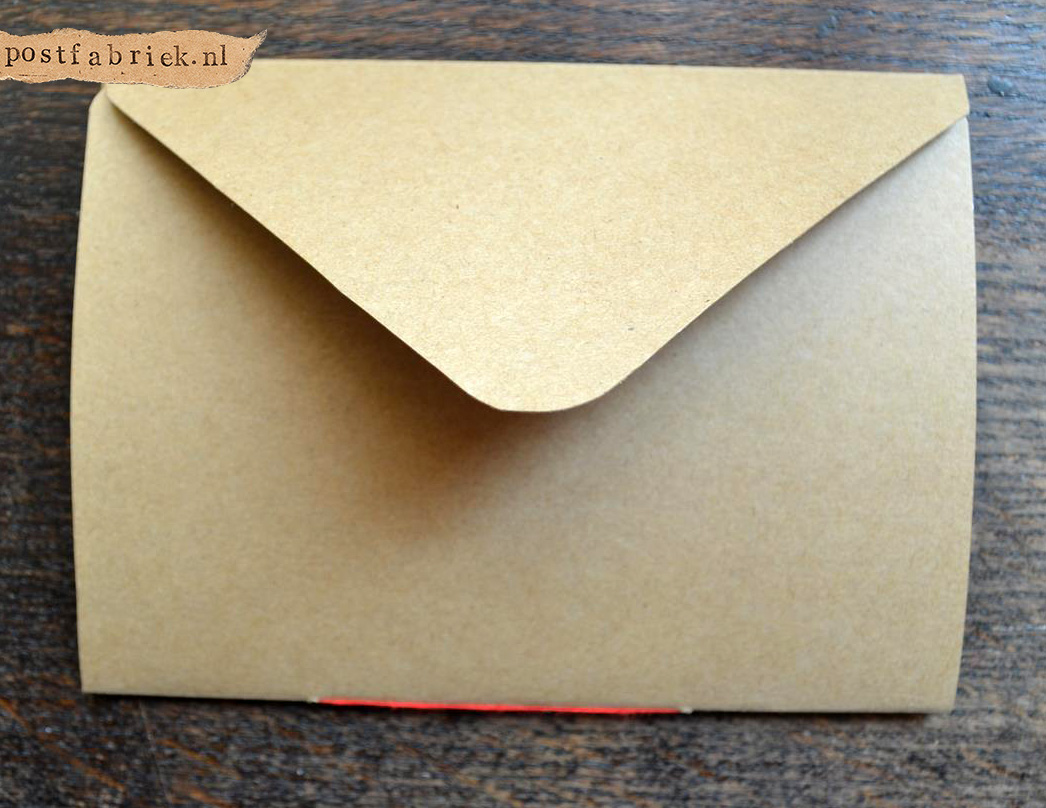Namaak Moleskine Postal Notebook 13