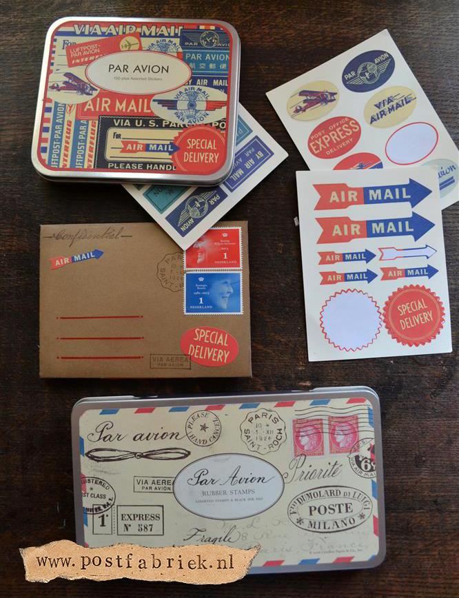 Namaak Moleskine Postal Notebook 16