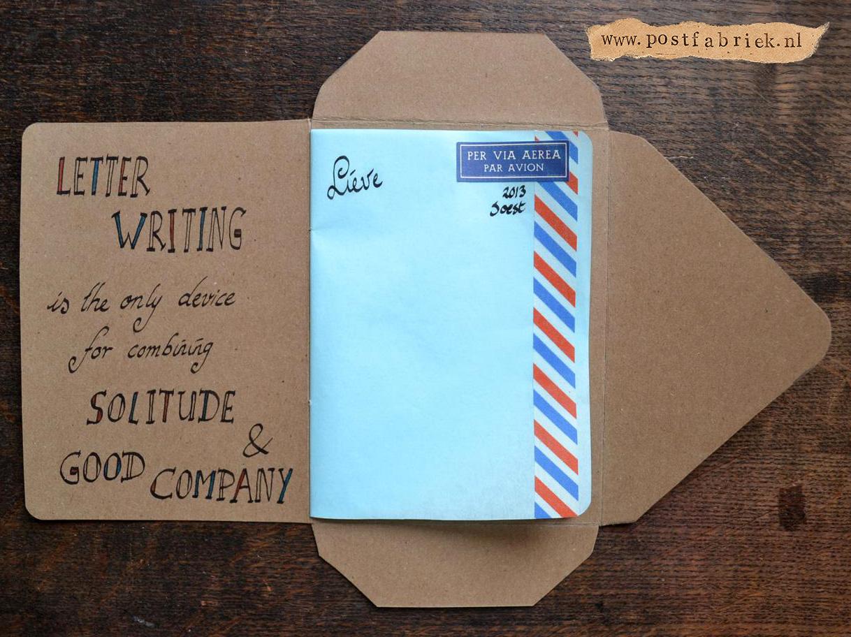 Namaak Moleskine Postal Notebook 18