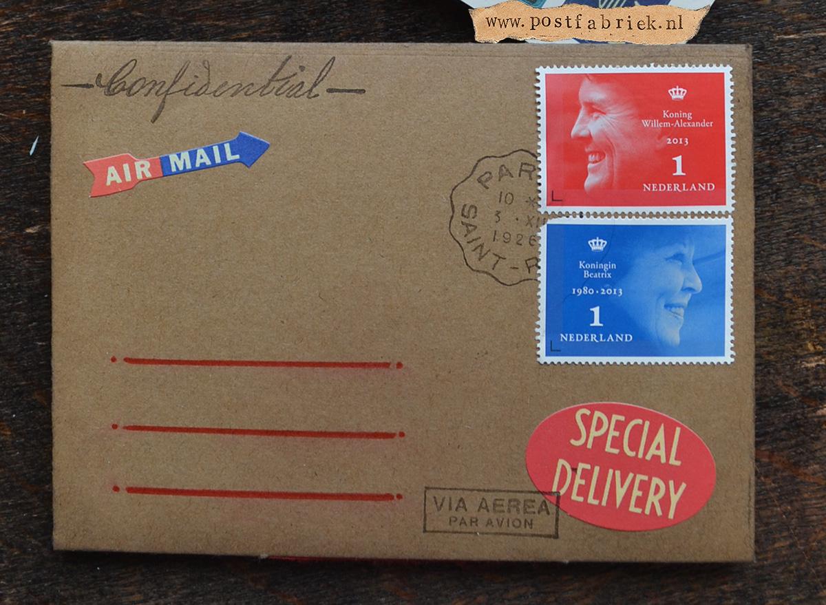 Namaak Moleskine Postal Notebook 19