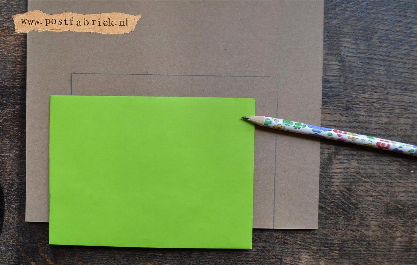 Namaak Moleskine Postal Notebook 2