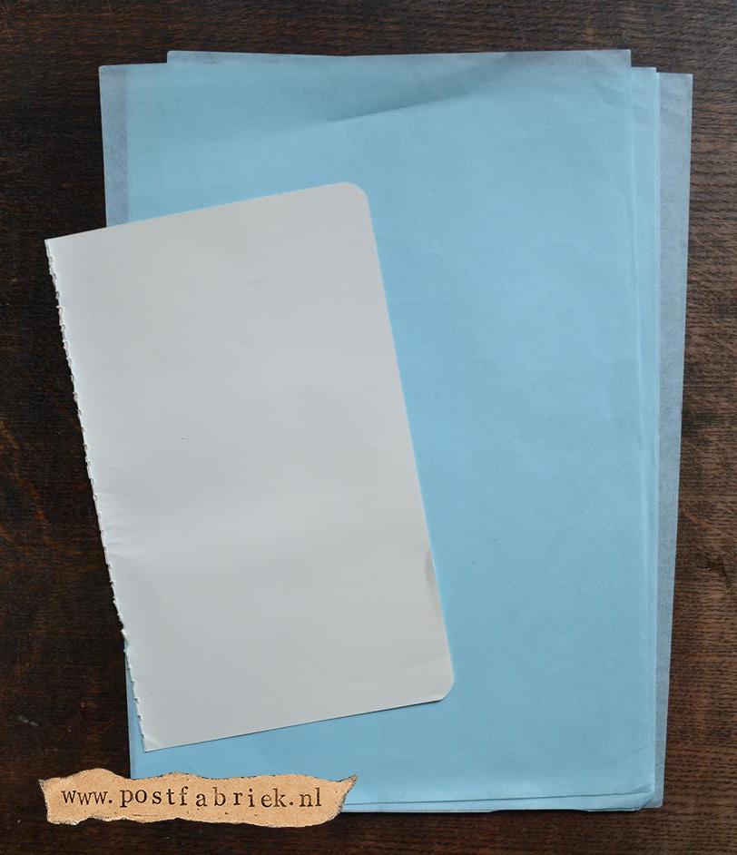 Namaak Moleskine Postal Notebook 6