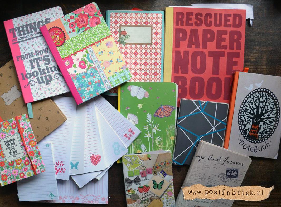 Notitieboekjes als briefpapier 1