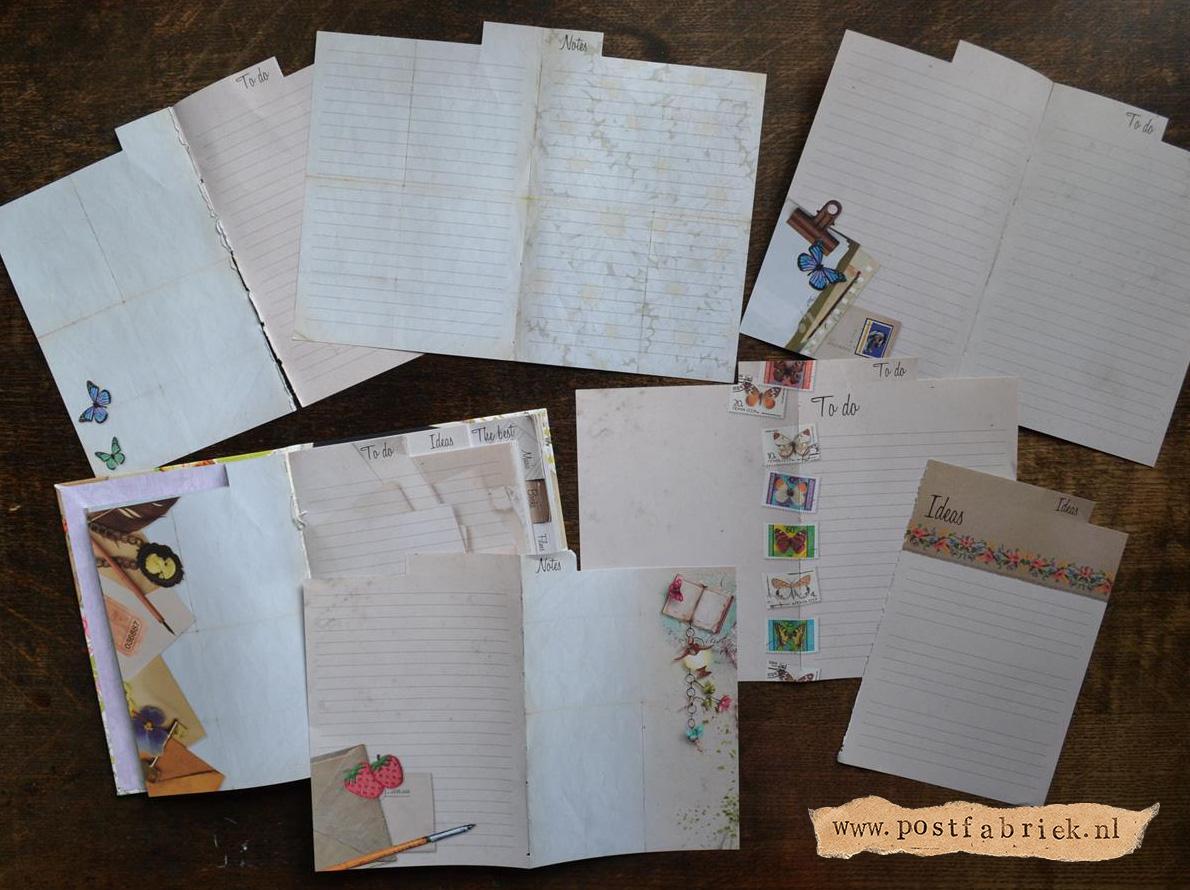 Notitieboekjes als briefpapier 14