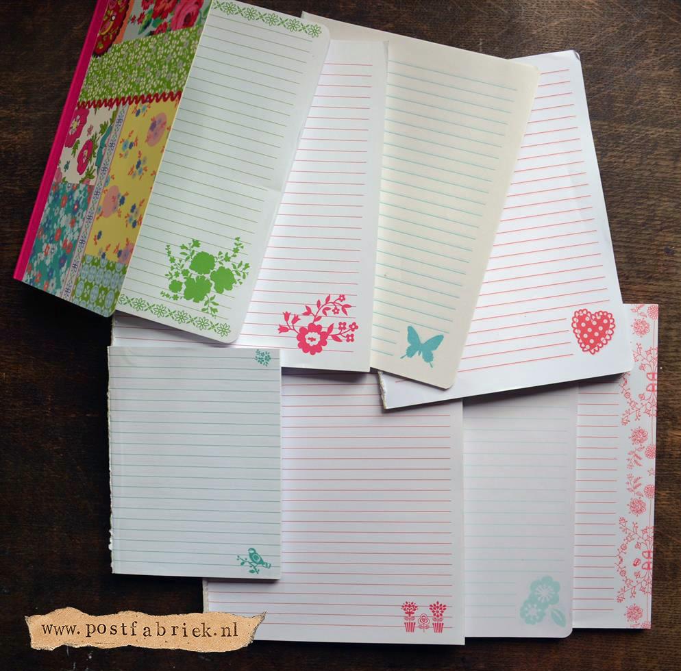 Notitieboekjes als briefpapier 5