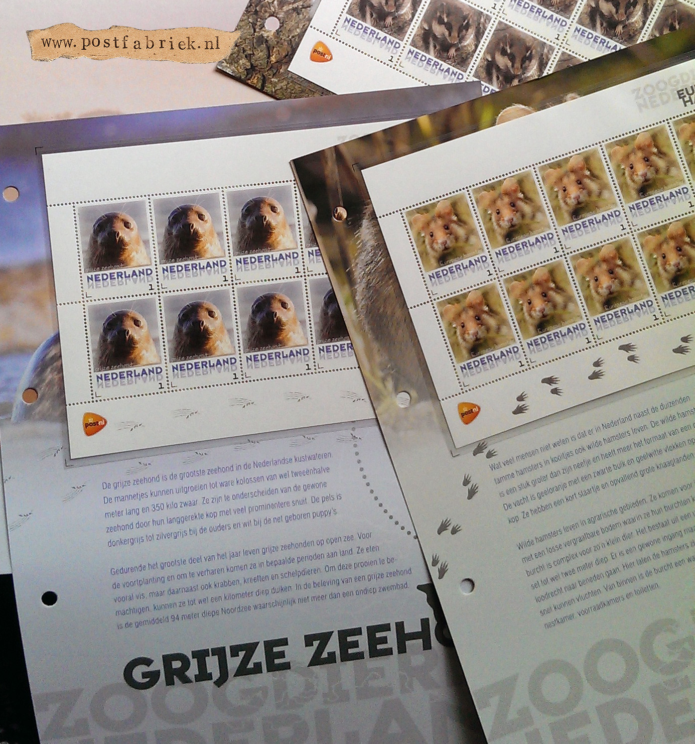 Zoogdieren Abonnement Postzegels 1
