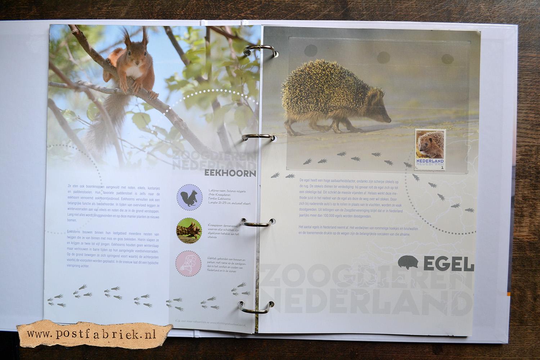 Zoogdieren Abonnement Postzegels 10