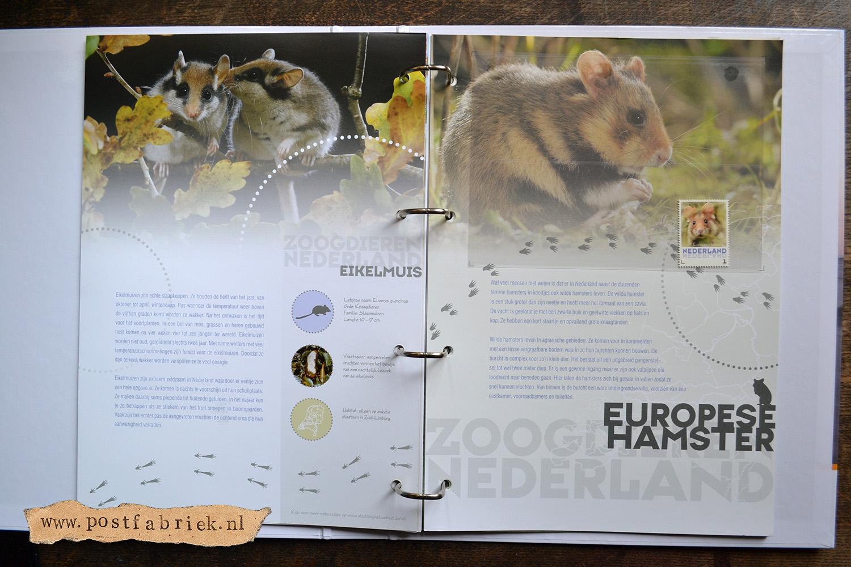 Zoogdieren Abonnement Postzegels 11