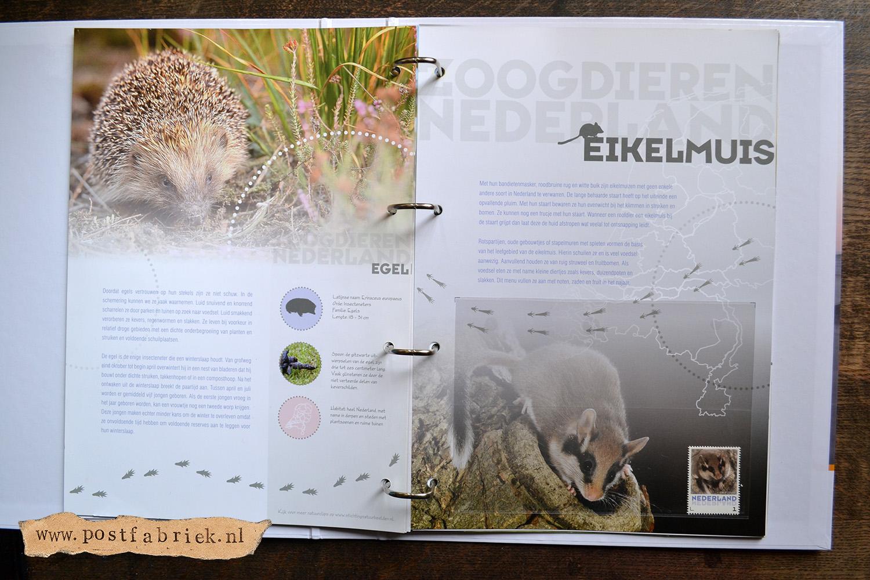 Zoogdieren Abonnement Postzegels 12