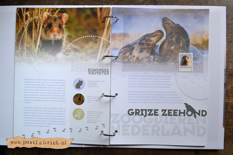 Zoogdieren Abonnement Postzegels 13