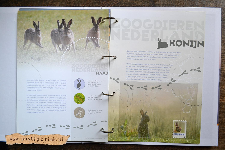 Zoogdieren Abonnement Postzegels 15