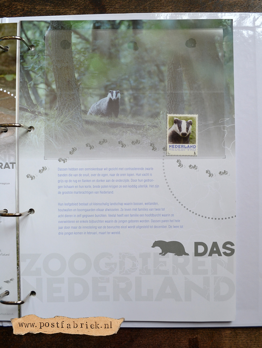 Zoogdieren Abonnement Postzegels 18
