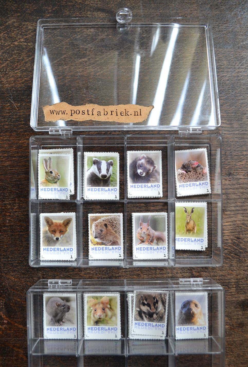 Zoogdieren Abonnement Postzegels 20