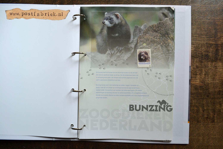Zoogdieren Abonnement Postzegels 4