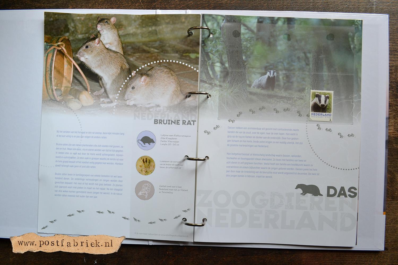 Zoogdieren Abonnement Postzegels 5