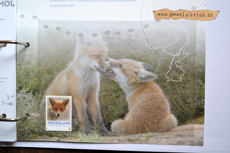 Zoogdieren Abonnement Postzegels 8