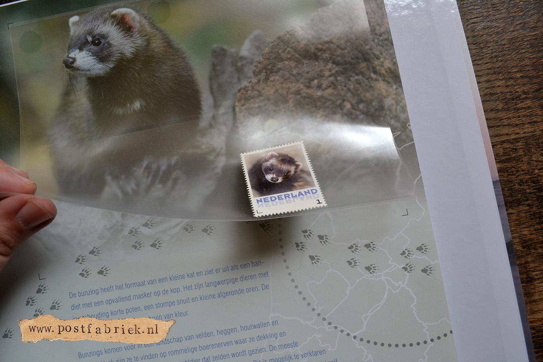 Zoogdieren Abonnement Postzegels 9