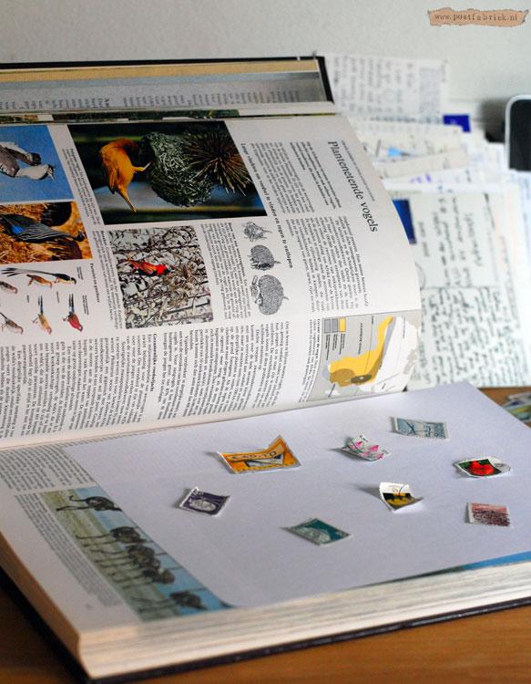 Postzegelsinboek