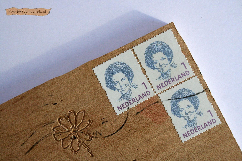 Gekke post - Plankje postzegel