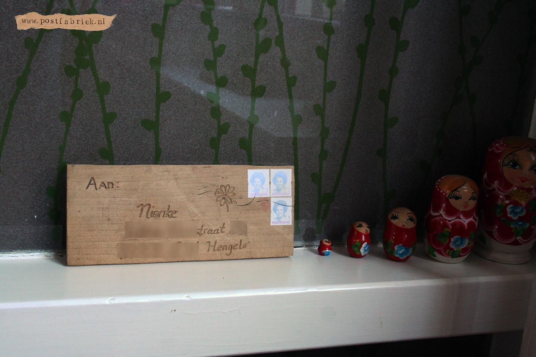 Gekke post - Plankje vensterbank