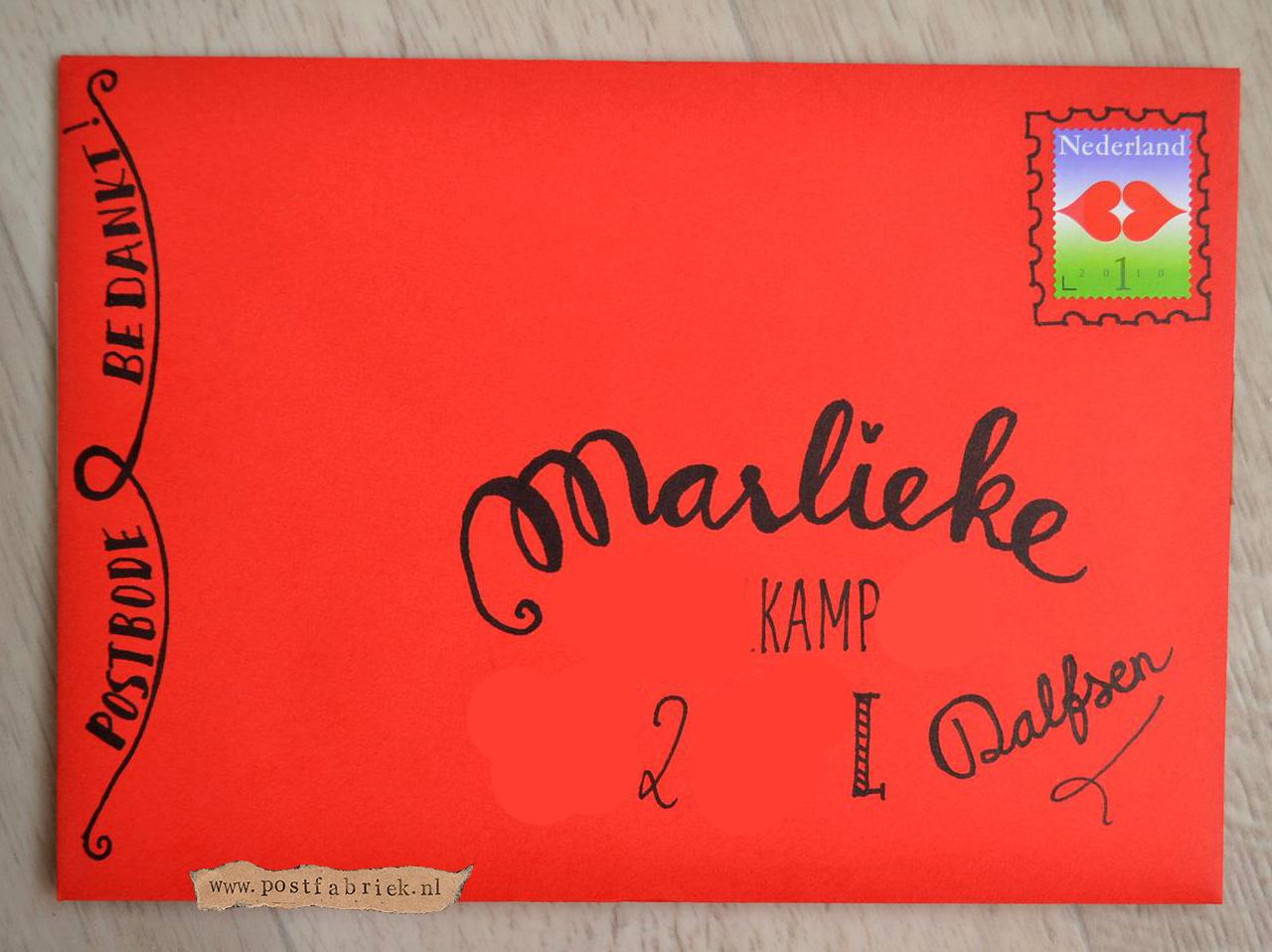 Envelop Marlieke
