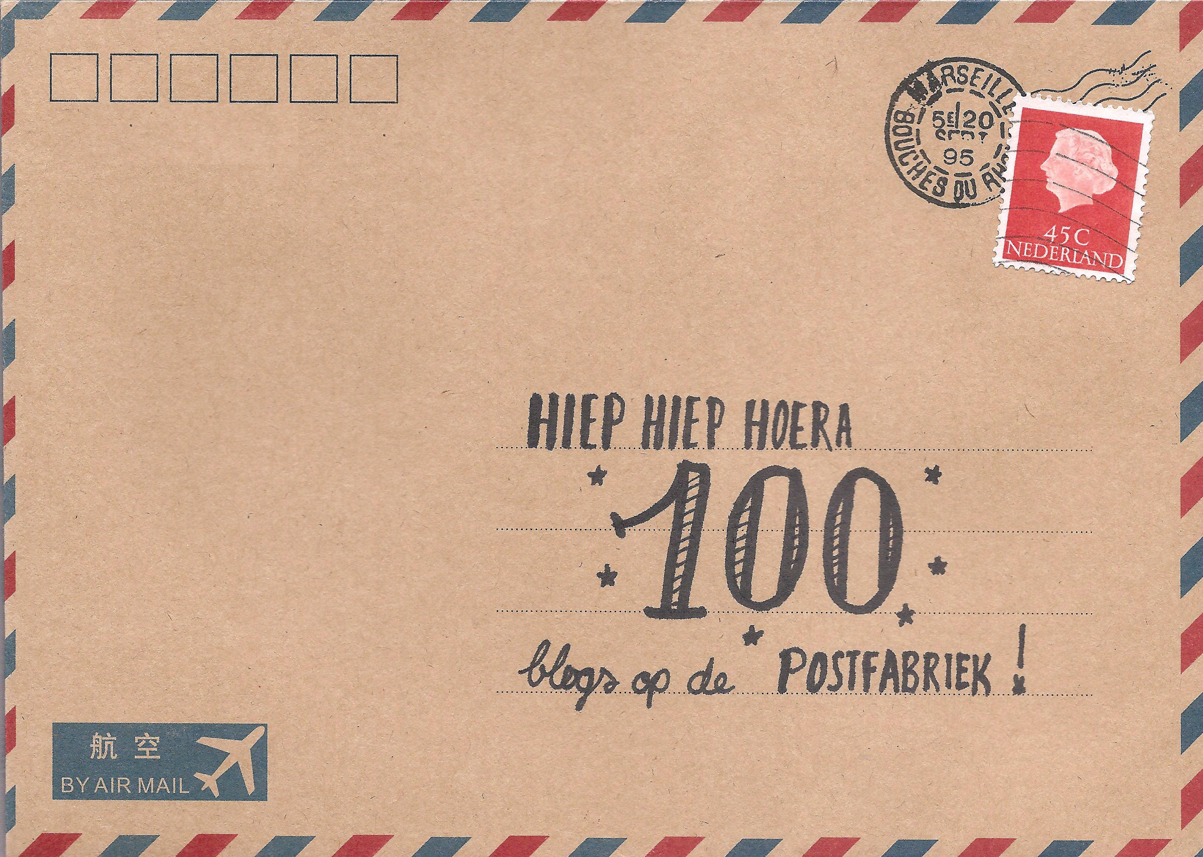 100 blogs envelop