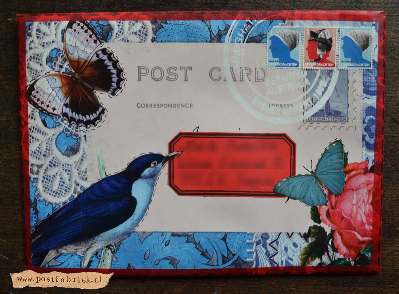 Van tafelzeil tot post eindresultaat envelop