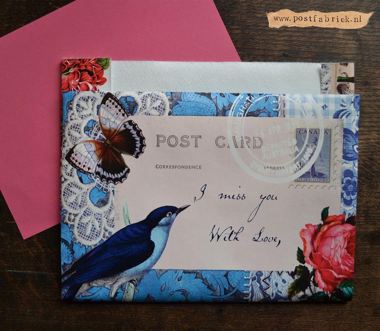 Van tafelzeil tot post - envelop