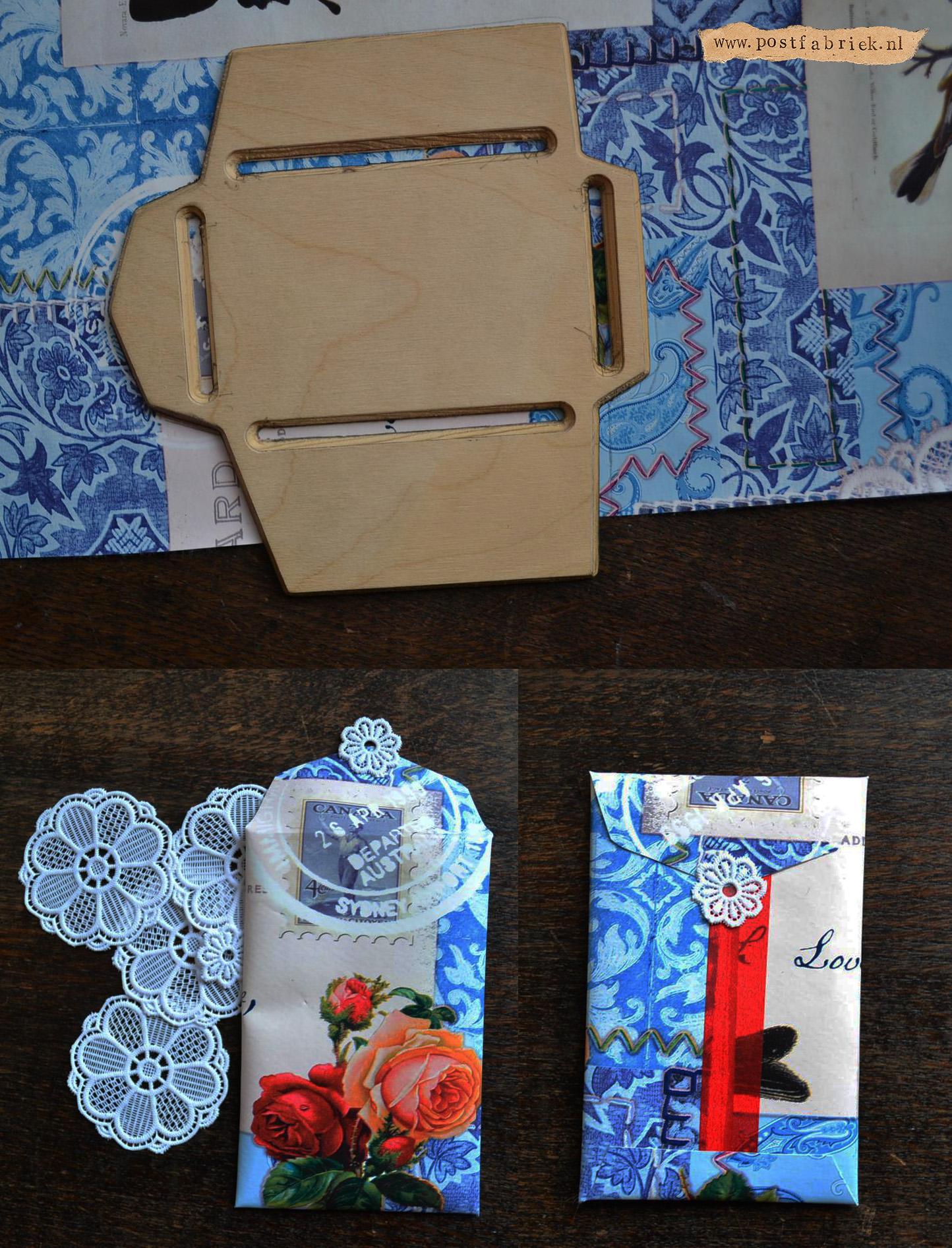 Van tafelzeil tot post  envelopje