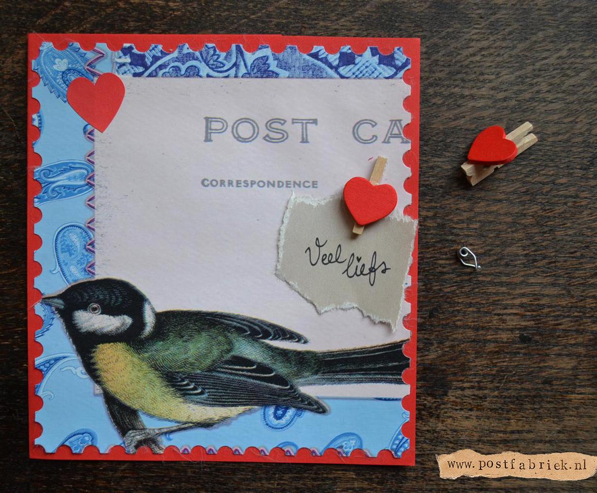Van tafelzeil tot post  kaartje