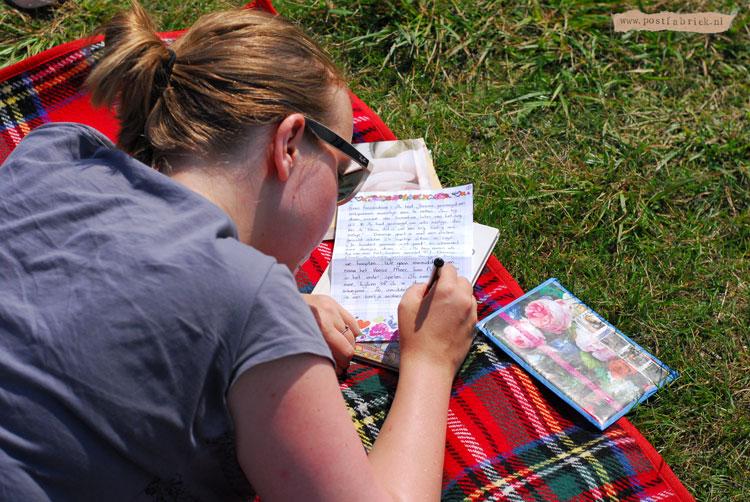 Brief schrijven aan het Veerse Meer