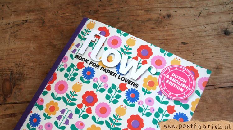 Een nieuwe speciale uitgave van de makers van Flow Magazine: 'book for paper lovers'.