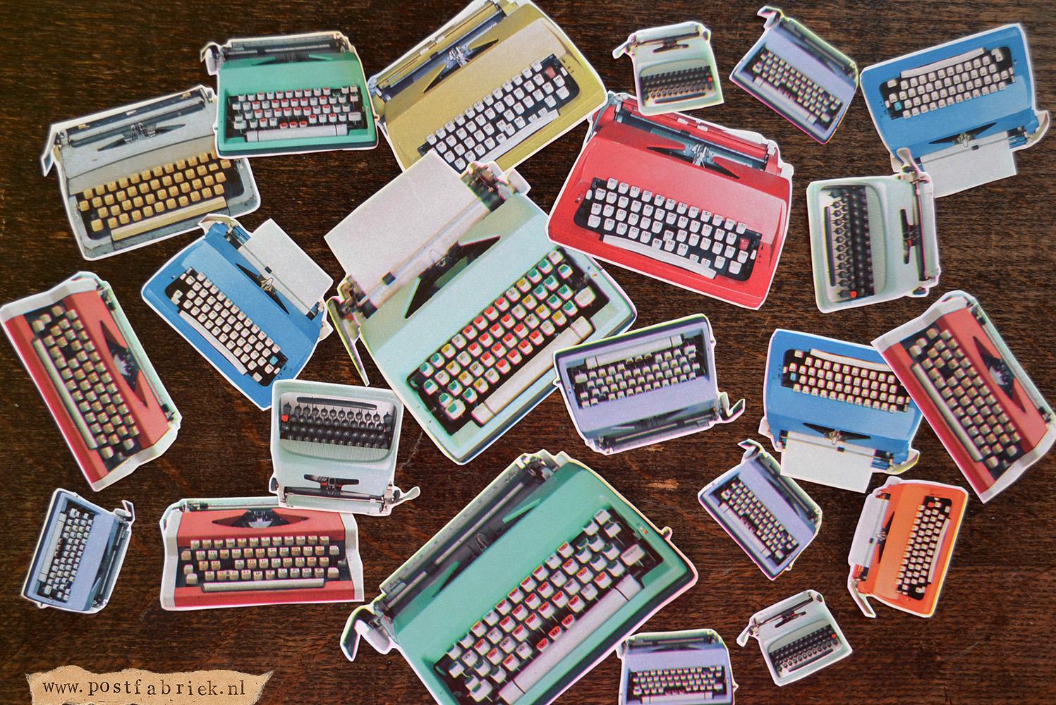 losse typemachientjes
