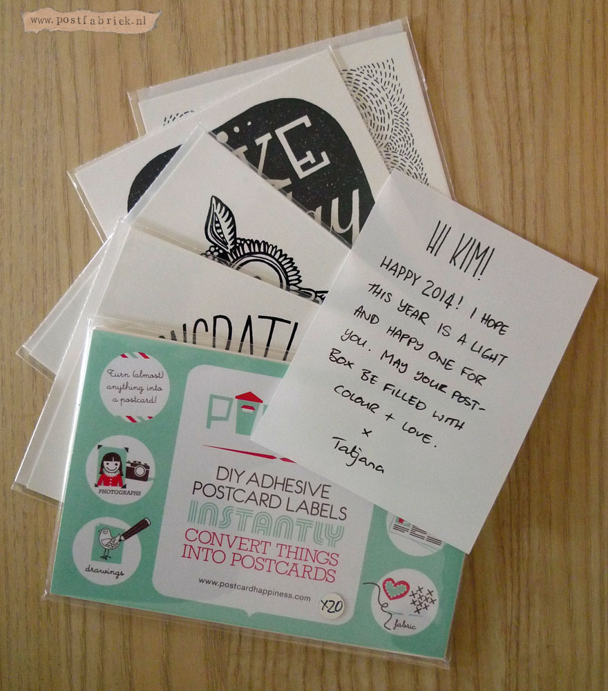 Tatjana weet hoe fijn het is om een kaartje te krijgen. Naast het beheren van het project, ontwerpt ze zelf ook kaarten.