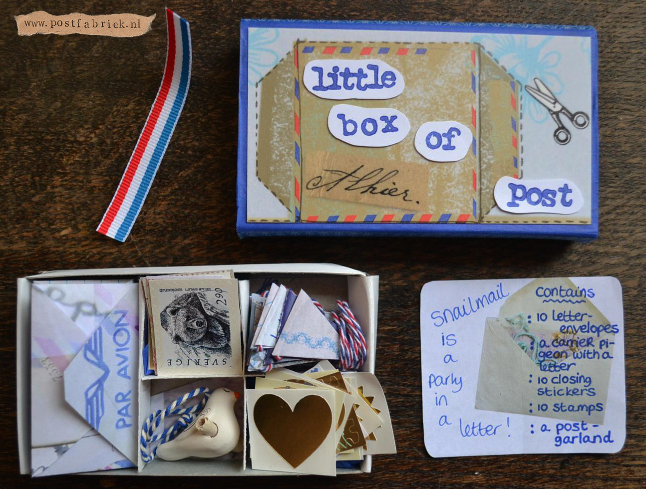 Little Box of Post van Saartje - IdeasFromTheForest II