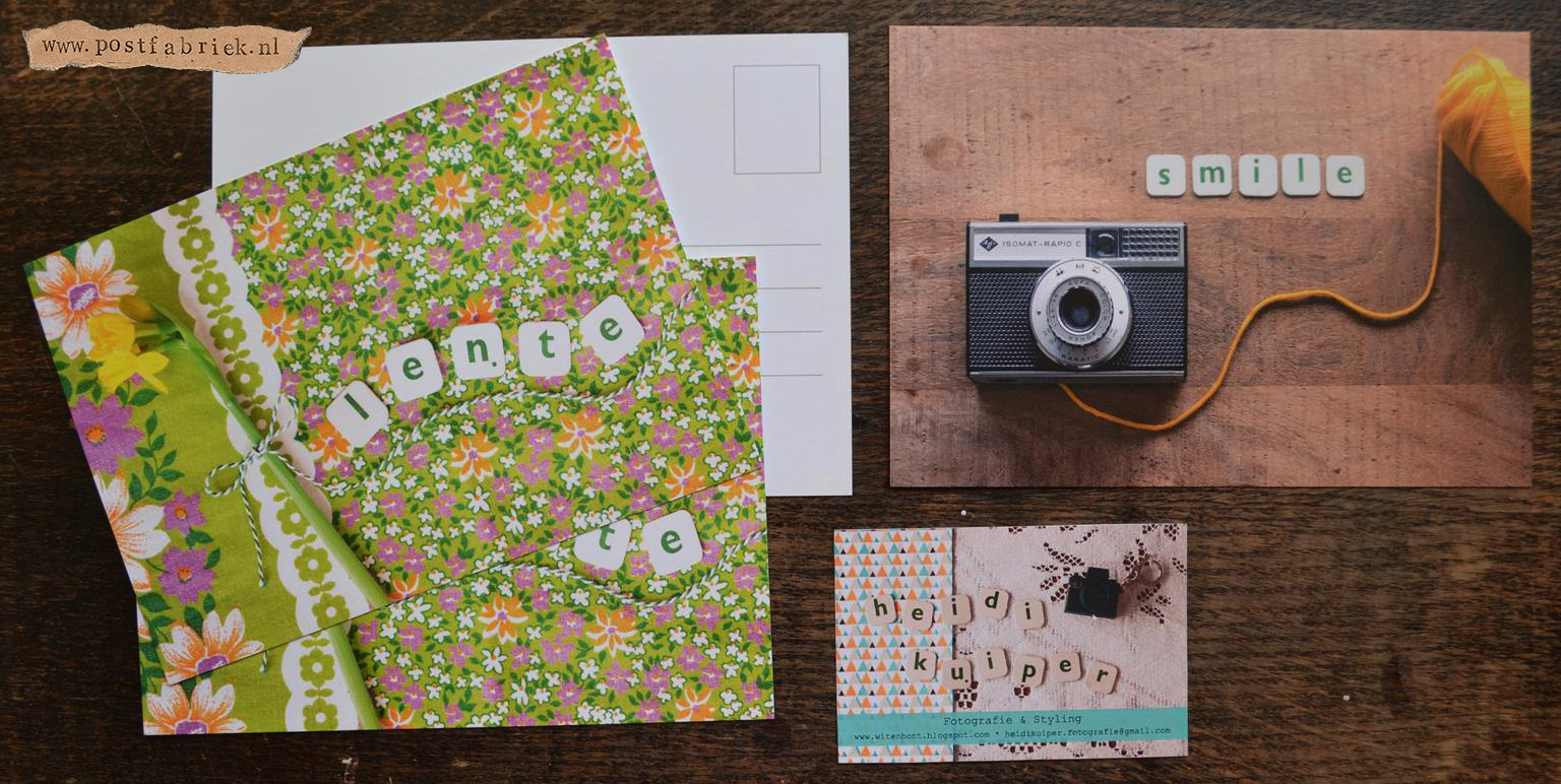 Kaarten van Heidi / Witenbont