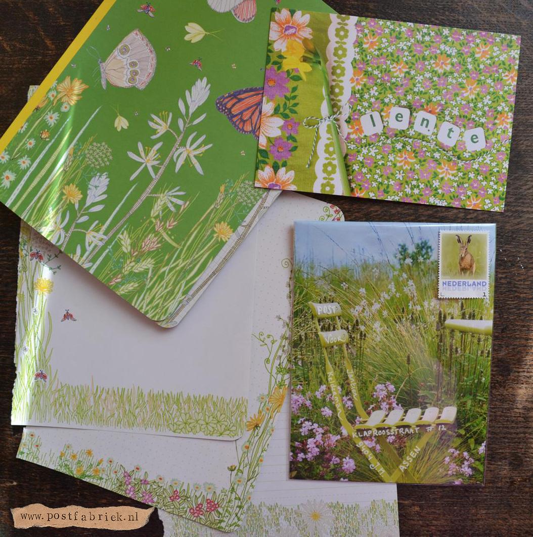 Post voor Jantien met kaartje van Heidi