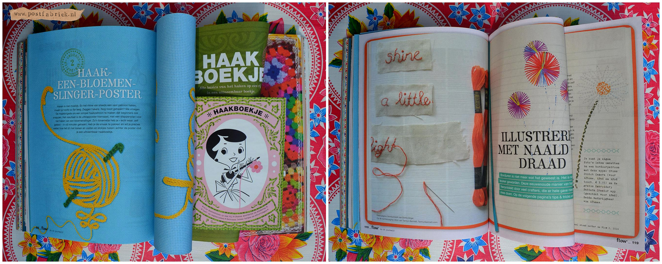 Flow Special DIY Haken & Borduren