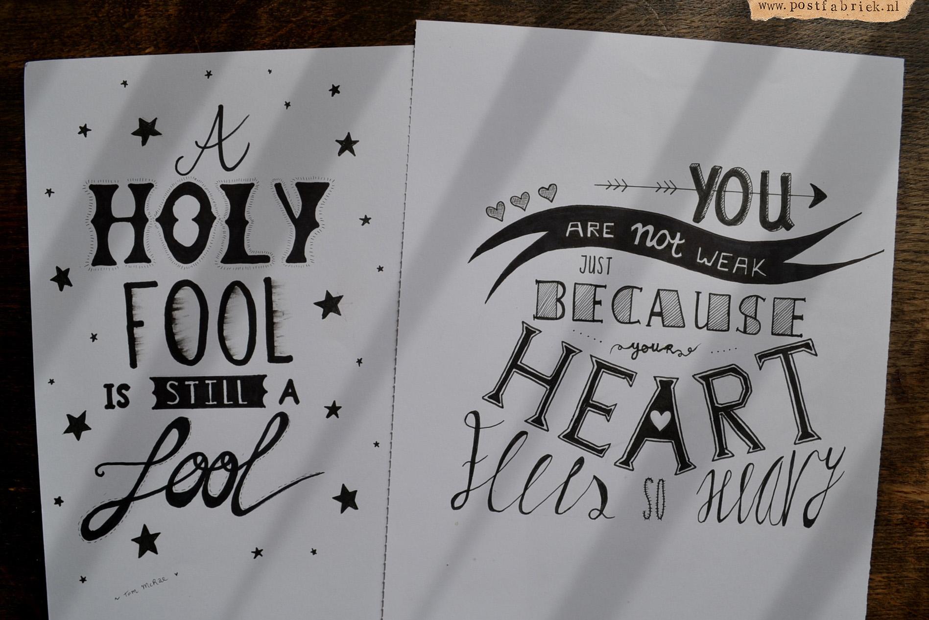 Hand Lettering Deel Ii Inspiratie En Tips Voor Het