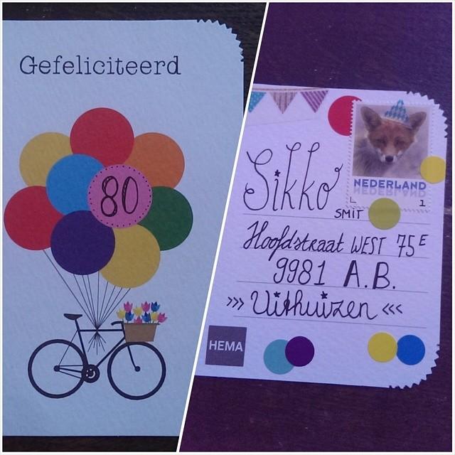 Genoeg Bedwelming Verjaardagskaart Zelf Maken #IYA91 - AgnesWaMu #JW84