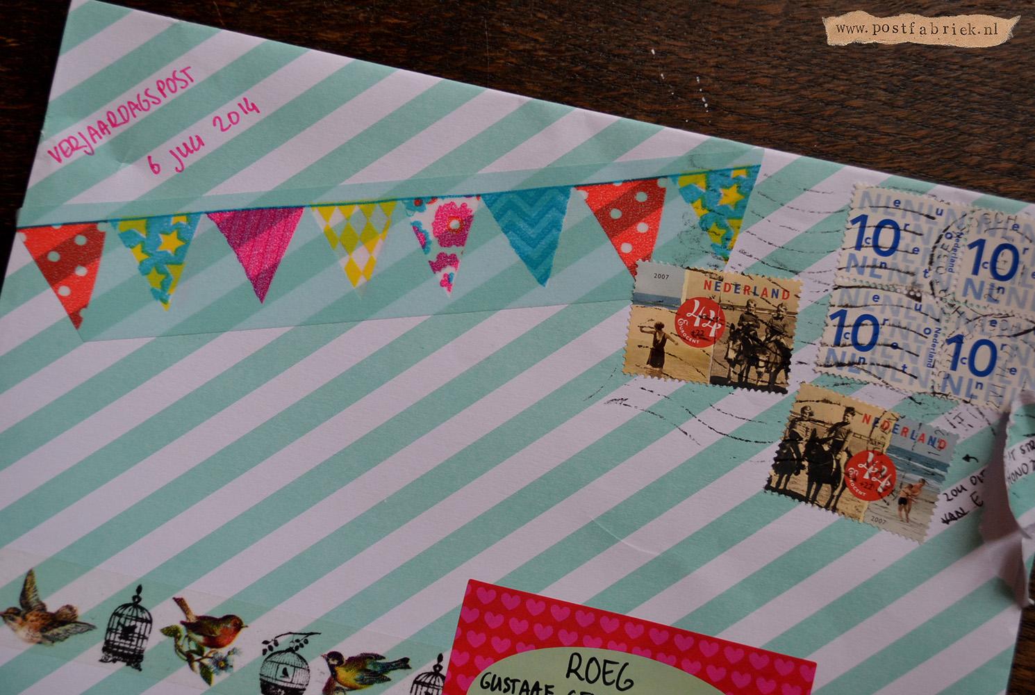 zelf verjaardagskaart printen