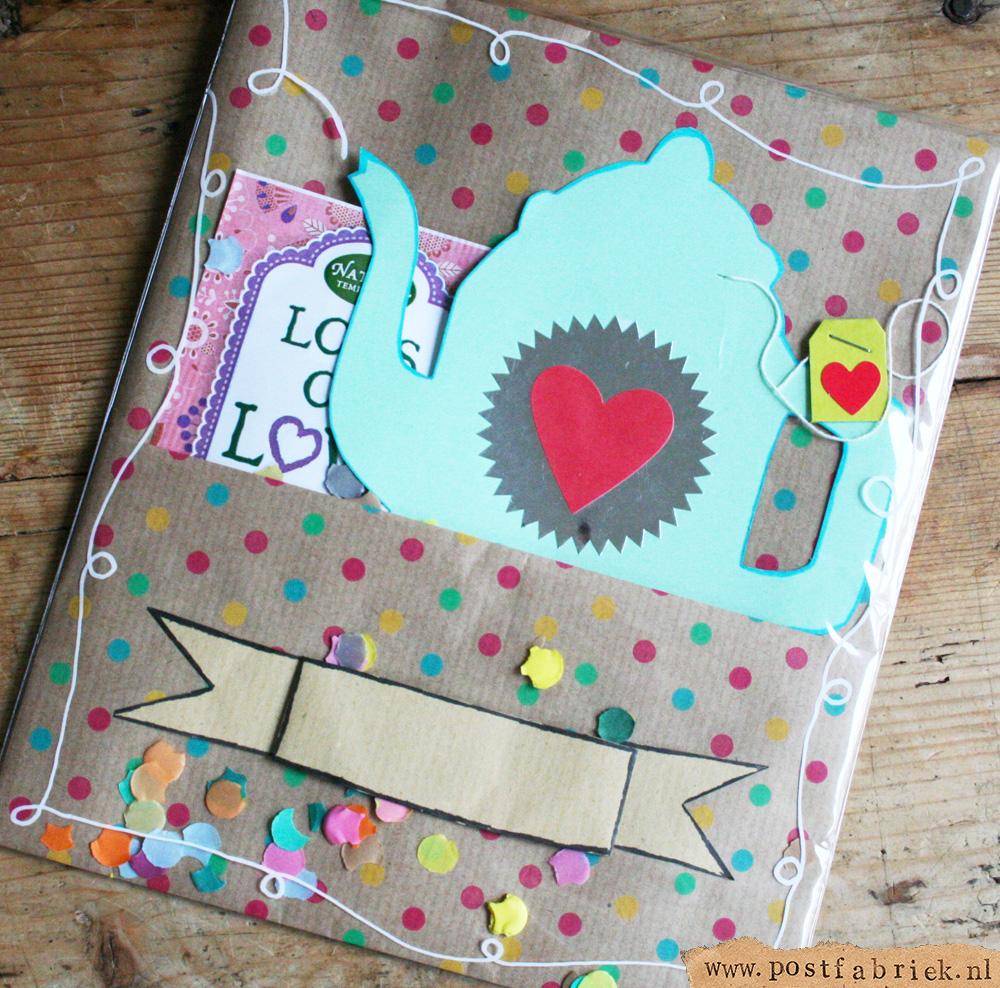 Lots of Love in een zakje met een voorvakje