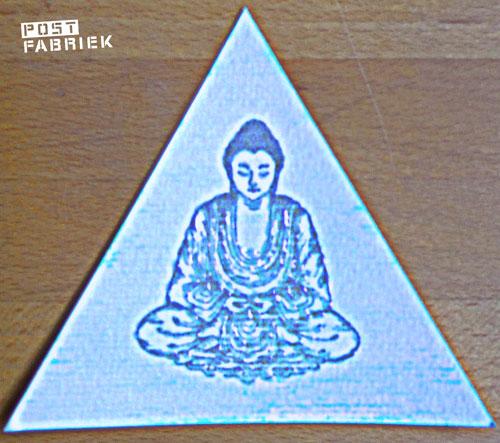 Kaartje met Buddha