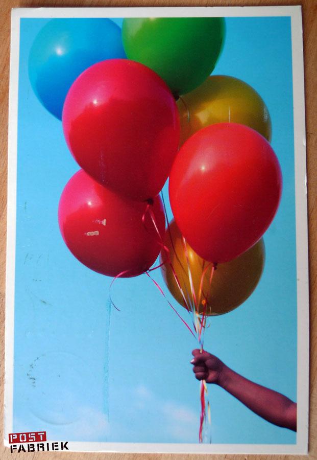ballonnenkaartje